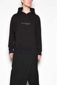 YOHJI YAMAMOTO 'New era' hooded printed sweatshirt