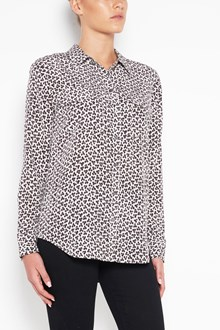 EQUIPMENT 'Leopard' printed silk shirt