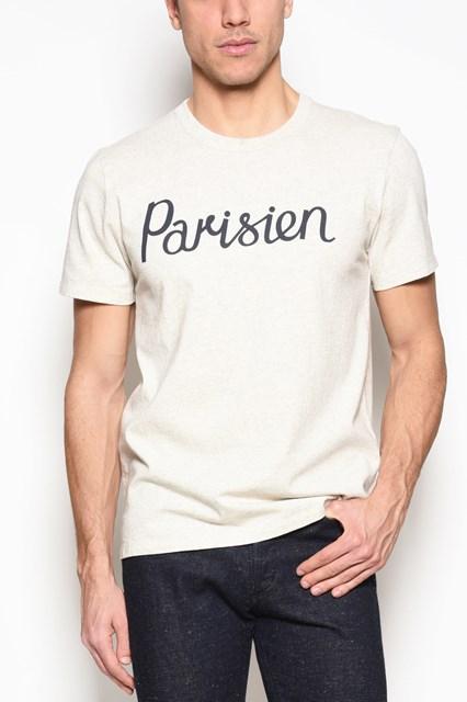 MAISON KITSUNE' 'Parisien' cotton t-shirt
