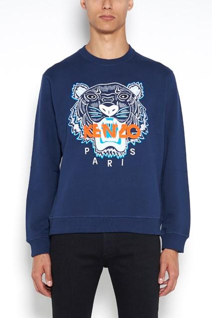 KENZO Printed and embroidered sweatshirt