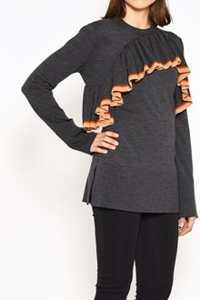 MARNI Crew-neck jersey with rouge