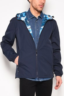 KENZO Hooded reversible jacket with print on the back