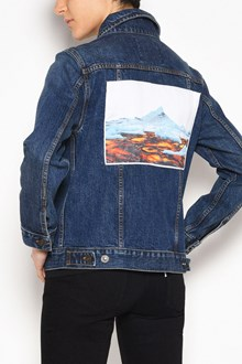 KENZO Denim jacket with front and back patches