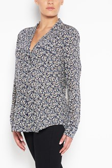EQUIPMENT 'Keira' flowers printed silk shirt