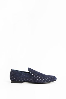 JIMMY CHOO Sloane calf leather slippers with stars