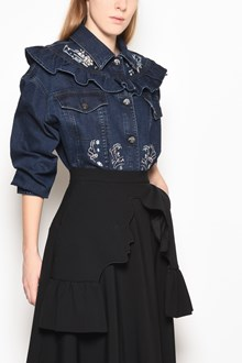 VIVETTA 'Rennes' oversize embroidered denim jacket