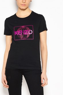 KENZO Logo and planet printed t-shirt