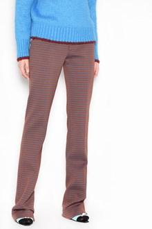 MARNI 'Yarn dyed' printed trousers. Drop 110