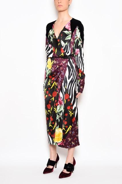ATTICO patchwork dress