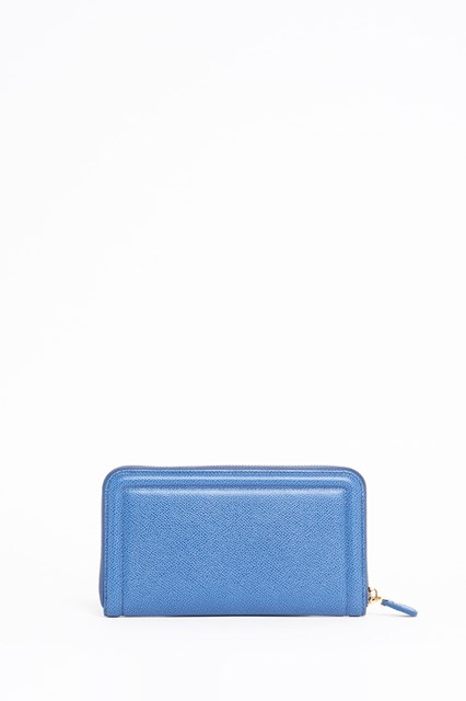 SALVATORE FERRAGAMO Leather zipped around wallet