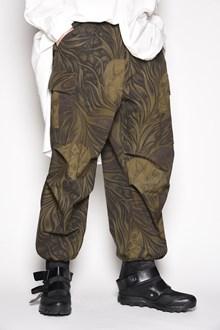 YOHJI YAMAMOTO 'Army' floral camouflage printed oversize pants