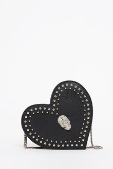 PHILIPP PLEIN Heart shaped shoulder bag with studs