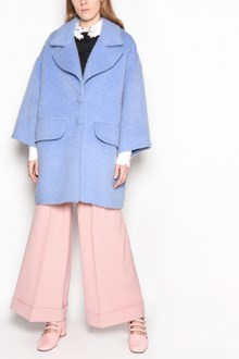 VIVETTA 'Sore' oversize coat with fur