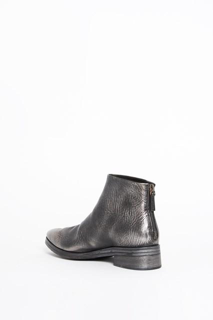 MARSÈLL 'Listone' calf leather silver bootie