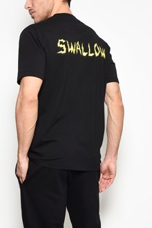 McQ ALEXANDER McQUEEN Front and back 'Swallow' printed cotton t-shirt