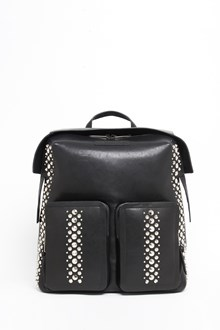 JIMMY CHOO Leather backpack with Punk studs