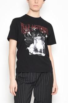 McQ ALEXANDER McQUEEN T-shirt from MCQ Alexander McQueen: Cotton t-shirt with 'Fear Nothing' print