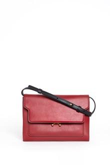MARNI Calf leather 'Trunk' clutch
