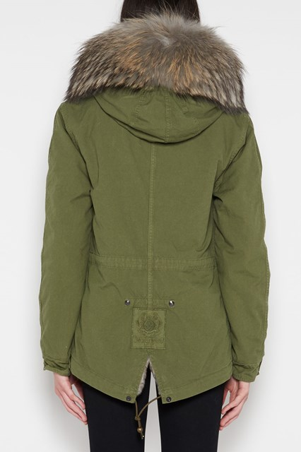 MR & MRS ITALY 'Army' parka