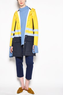 MARNI Pvc hooded jacket with buttons in collaboration with Stutterheim