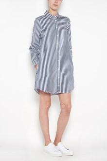 EQUIPMENT 'Carmine'striped mini  dress