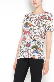 TORY BURCH 'Daya' T-shirt with 'Gabriella Floral' print
