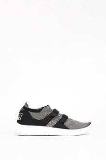NIKE Cotton 'TM Nike Air Sockracer' Sneakers double buckle
