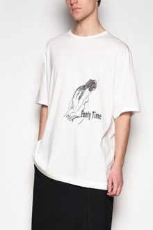 YOHJI YAMAMOTO 'Woman stitch' printed t-shirt