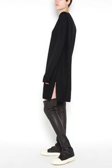RICK OWENS Wool oversize 'Shroud'  sweatshirt