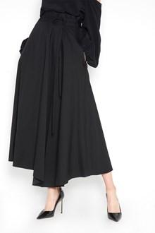 THEORY asimmetric high waist cotton skirt