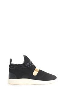 GIUSEPPE ZANOTTI DESIGN sneakers with gold strap