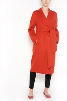 BOTTEGA VENETA double cashmere  coat with bow belt