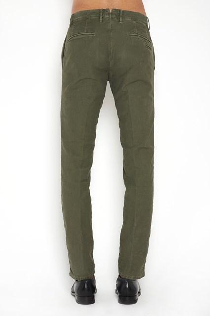 INCOTEX 'Linea Slacks' gabardine stretch trousers with pockets