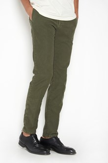 INCOTEX 'Linea Slacks' gabardine stretch trousers with pockets
