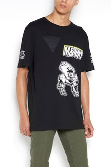 STELLA MCCARTNEY printed 1/2 sleeves  t-shirt with patch