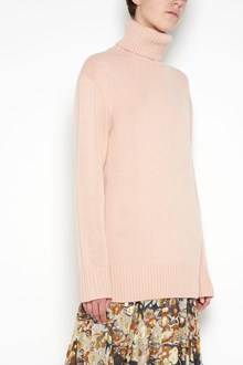 CHLOÉ oversize wool pullover with turtle neck