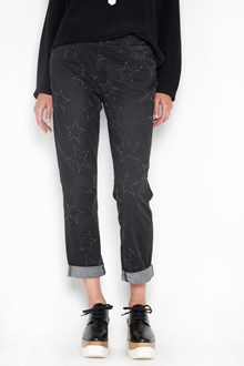STELLA MCCARTNEY Jeans with fringed stars