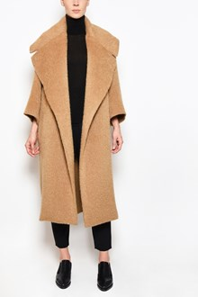 MAX MARA ATELIER 'Edo' coat with large collar and without buttons