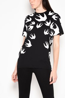 McQ ALEXANDER McQUEEN 'Swallows' printed t-shirt