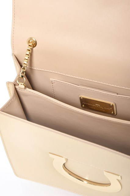 SALVATORE FERRAGAMO 'Thalia'  calf leather clutch