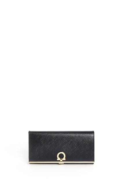 SALVATORE FERRAGAMO 'Continental' calf leather wallet
