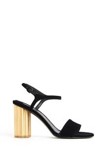 SALVATORE FERRAGAMO 'Siena' velvet sandal