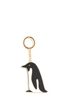 THOM BROWNE brass 'Penguin' keyring