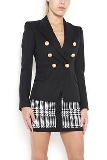 BALMAIN six buttons tailleur classic wool jacket