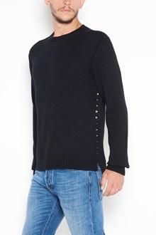 VALENTINO 'Rockstud Untitled' cashmere crewneck cardigan