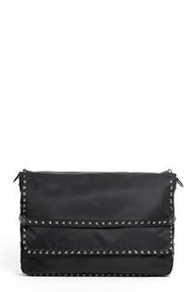 VALENTINO GARAVANI 'Messenger'  nylon bag with studs