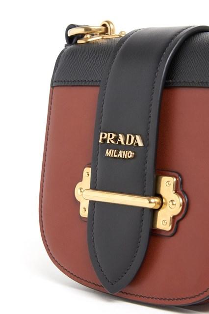PRADA mini 'Pionier' city calf shouler bag