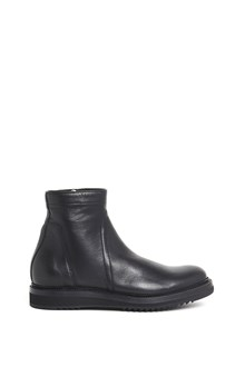 RICK OWENS 'Creeper slim' calf leather boots