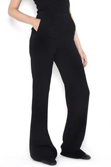 BOTTEGA VENETA Wide long  trousers with pences