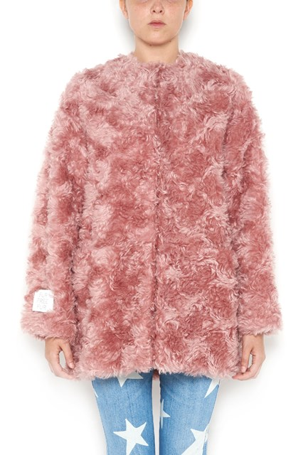 STELLA MCCARTNEY Eco fur with buttons